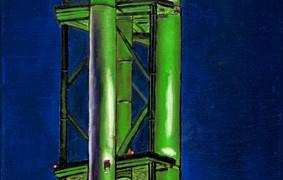 Öl auf Leinwand  30 cm x 150 cm  auch als Repro Lwd./Keilrahmen in verschiedenen Größen erhältlich